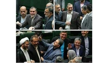 گریه شجاعانه و سلفی سفیهانه در مجلس